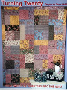 Additional Images of Turning Twenty Gimme 5 and Make it Scrappy by ... : turning twenty again quilt pattern - Adamdwight.com