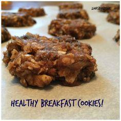 Super easy and healthy breakfast cookies! @mrsbarbelle