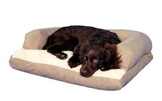Caddis Beasleys Couch Dog Bed PolySuede Sage Small 20 x 25 * Read more at the image link.
