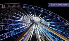 Groupon - Date Night for Two  with Chocolates, Four Admissions, or Annual Pass to SkyView Ferris Wheel (Up to 50% Off)      in Downtown. Groupon deal price: $23