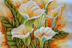 pinturas em tecidos copo de leite - Pesquisa Google