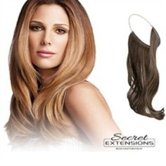 Pratik Postiş Wonder Secret Extensions - 4 Renk