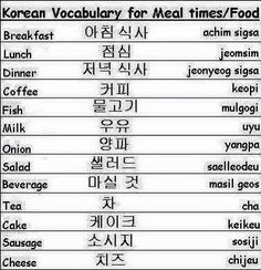 Korean food times
