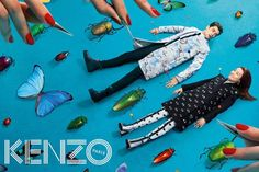 KENZO's Fall 2013 Campaign