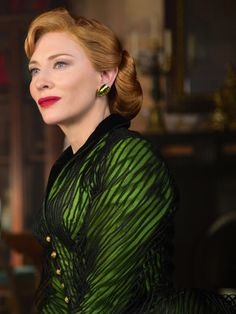 Cate Blanchett as Lady Tremaine in Cinderella (2015). [x]