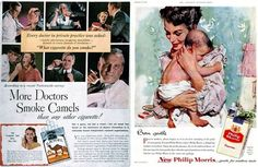 Vintage Ad cigarette ads