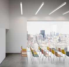conference room with Catifa 46 by #Arper
