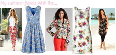 Fashion trendspotting ~ My favourite floral fashion for summer