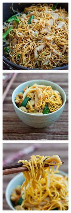 Delicious Chicken Chow Mein