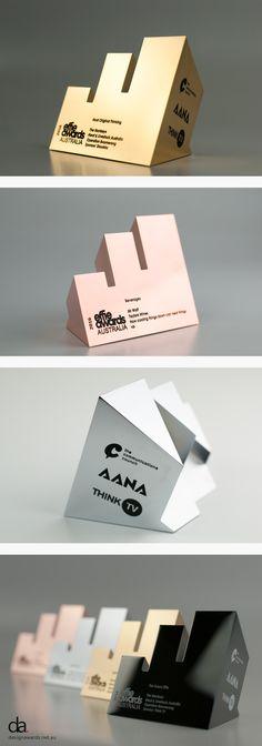 Effie Awards Australia | Design Awards | #moderndesign #custommade #trophy
