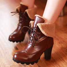 Aliexpress.com : Buy 3 Colors Free shiping 2013 New arrived Sexy Ankle pu Platforms Lace UPPlush boots high heels pumups Fashion shoe from Reliable boots suppliers on Vogue shoes $33.58