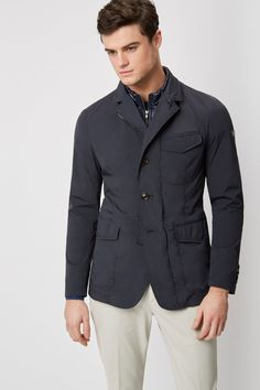 Gray and khaki