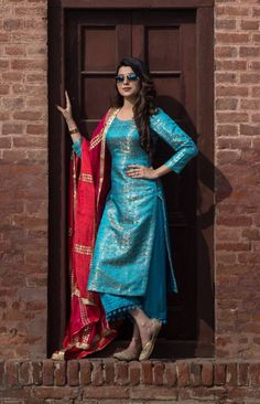 HappyShappy - India's Own Social Commerce Platform Kurta Designs Women, Salwar Designs, Blouse Designs, Salwar Kurta, Indian Salwar Kameez, Anarkali, Punjabi Salwar Suits, Punjabi Dress, Indian Attire