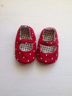 Jada Baby Shoes PDF Pattern