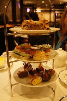 tea party at the disneyland hotel