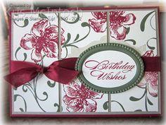 SU! Everything Eleanor stamp set; Cherry Cobbler, Crumb Cake and Always Artichoke ink; Cherry Cobbler, Crumb Cake, Very Vanilla and Always Artichoke card stock - Kris McIntosh