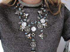 Tibi top and Erickson Beamon necklace shoot me please :S:):S
