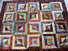Between baby quilts and wedding quilts, my sister-in-law has kept her ...