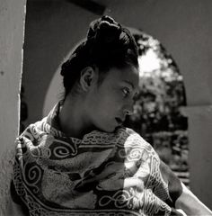 Nieves, a model of Diego Rivera, Cuernavaca, Mexico. 1943