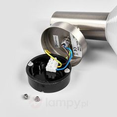 Lampa zewnętrzna Tiga z LED, stal szlachetna 9988071