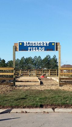 Take a look at the progress happening at Blueberry Fields this April.