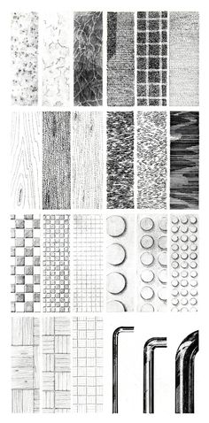 http://www.designshifts.com/learning-to-illustrate-textures-techniques-for-architects-designers-and-renders/