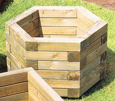 hexagon planter | Home » Garden Products » Planters » Hexagon Planter - Large