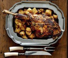 Αρνάκι στη γάστρα με πατάτες | Συνταγή | Argiro.gr Food Categories, Pork, Turkey, Meat, Cooking, Recipes, Greek, Pork Roulade, Cucina
