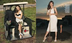 Terry Richardson's Diary — Miranda Kerr shot by Me for Harper's Bazaar… out...