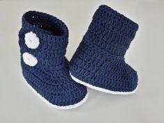 Häkelanleitung Baby-Booties / E-Book PDF