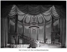 Set Designs by Oliver Smith Oliver Smith, Set Design, Valance Curtains, Opera, Theater, Home Decor, Stage Design, Decoration Home, Opera House