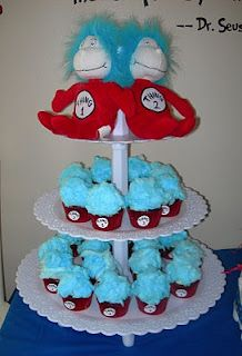 Sweeten Your Day Events: Dr. Suess Baby Shower @Jenn L Welch, a cool idea for Megan and Abby!