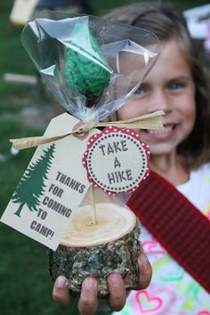 And Everything Sweet: Camping Party - fun camping party idea for the kids w/activities and fun food ideas!