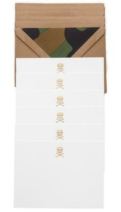 Diabolically cute Terrapin Stationers Skull Note Cards: http://rstyle.me/~18RPf
