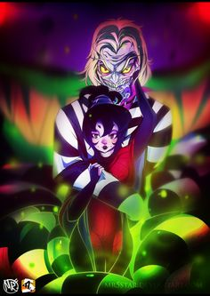 beetlejuice and Lydia art - Google Search