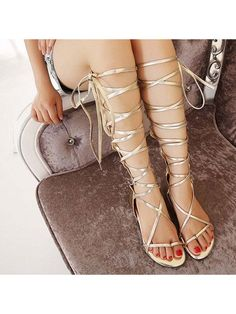 103301da803cd Womens Flat Flip Flops Strap Cross Roman Cut Out Sandals Gladiator Casual  Shoes