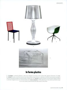 Lisa by Elisa Giovannoni Design on Architectural Digest April 2015