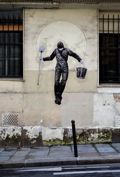Humorous Street Art of French Artist Levalet