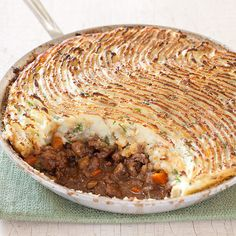 We're beefing up for St. Patrick's Day with a slice of our hearty and healthful version of Shepherd's Pie.