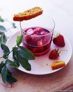 Strawberries in Red Wine Recipe