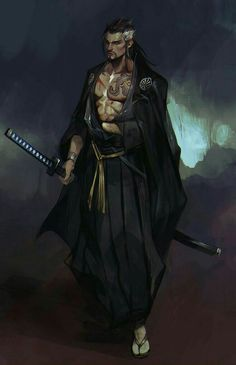 Hiroshi Hakuro - Samurai who studied astral planes in-depth. Who he died, his being was separated into 3 different astral planes. One only revealed his skeleton, but left him dead. Another tore his soul/ghost from him. The last left a husk in the desert.