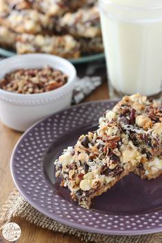 Triple Chocolate Seven Layer Bars from @akitchenaddict