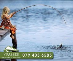 Spend quality time with the family or a boys day out with our stunning fishing outings at Don't delay, book your stay today, contact us on 079 403 Fishing Girls, Fly Fishing, Boys Day, Beautiful Little Girls, Tent Camping, Quality Time, Wilderness, Iphone Wallpaper, Activities
