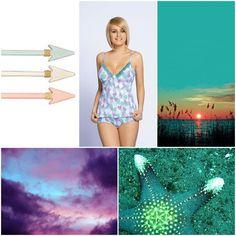 OLIVIA #poland #polska #unikat #underwear #lingerie #model #style #pijama #nightwear #violet #seagreen #olivia