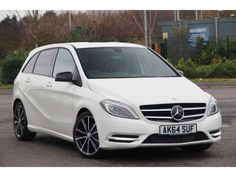 Used 2014 (64 reg) Cirrus White Mercedes-Benz B Class Sport for sale on RAC Cars