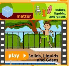States of Matter video at Brainpop Jr
