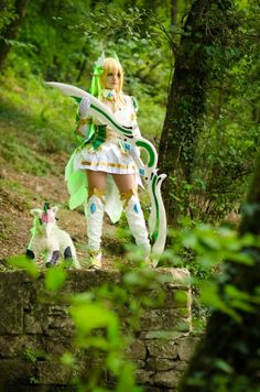 Kicka Cosplay: Rena Grand Archer from Elsword in Otaku House Cosplay Idol 2012