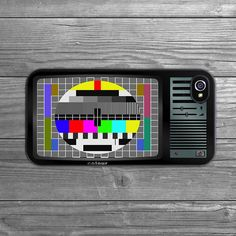 retro tv iphone case by crank | notonthehighstreet.com