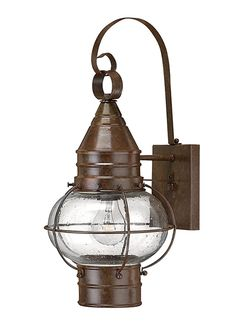 Old Brass Fisherman Hanging  Lantern.. I love the antique style.