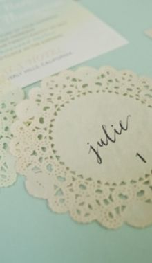 name cards :)